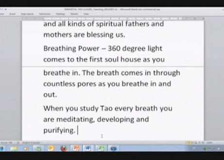 Learn the Immortal Tao Classic with Master Sha: Lines 1 - 3